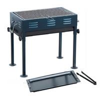 零度探索LIVTOR 户外烧烤炉子烧烤用品便携烧烤架家用折叠烧烤箱LG2183(黑色)
