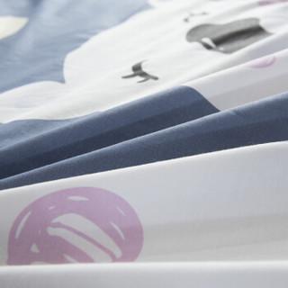 零度探索 LIVTOR旅行酒店宾馆全棉印花隔脏防脏纯棉卫生睡袋 星月童话 家庭亲子款 200*230cm(赠固定带)