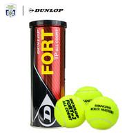 登路普DUNLOP網球 FORT TP 3粒鐵罐裝上海大師賽官方比賽訓練網球601203L *11件