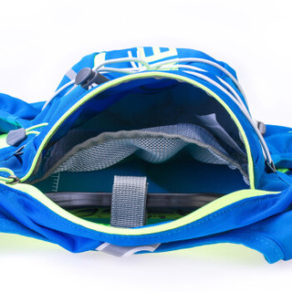 奥尼捷(AONIJIE)越野跑步背包马拉松水袋包户外运动登山双肩包10L 蓝绿M/L
