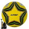 世达(star)SB145TB-05 黄色 5号 高弹性 热贴合 FIFA认证 比赛足球
