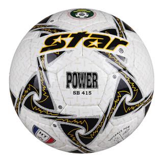 世达(star)耐磨 PU 手缝 5号 比赛用 足球 SB415