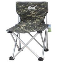 畅意游 Easy Tour 户外折叠椅 轻便靠椅沙滩椅钓鱼椅便携式休闲椅户外折叠椅子 小号迷彩