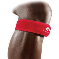迈克达威414-R 髌腱保护跳跃膝登山跑步篮球羽毛球网球髌骨带运动护膝均码 红色 *6件