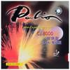 拍里奥Palio套胶皮 蓝海绵CJ8000轻快型专业版乒乓球拍胶皮反胶 红色39-41度