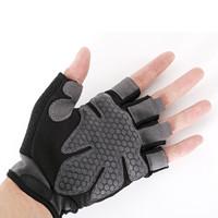 普为特POVIT 健身手套防滑多功能哑铃训练登山骑行手套 一对装 L码P-800