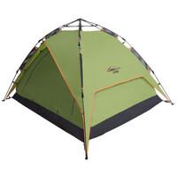 沃特曼Whotman 帐篷 户外自动速开免搭建 3-4人休闲露营帐篷野营帐篷WZ1201