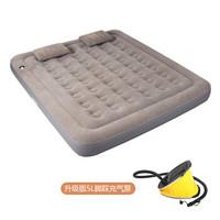 喜马拉雅 气垫床三人加厚加大户外帐篷充气床垫 家用办便携露营午睡 沙滩休闲充气床(脚踩气泵)HA9806-1