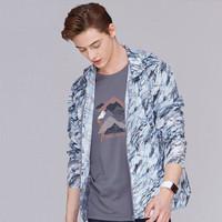 CAMEL 骆驼(中国)户外用品有限公司 男 户外皮肤衣 (爵士蓝、A7S230129)