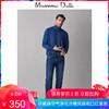 季中折扣 Massimo Dutti 男装 素色棉质/山羊绒/桑蚕丝高领针织衫 00936317405 350元