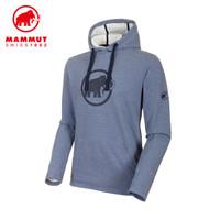 MAMMUT/猛犸象 男士 宽松套头卫衣 (深海蓝)