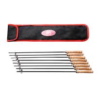 悠乐朋(Ulecamp)烤针烤签不锈钢加粗烧烤钢签烧烤针配件8支装