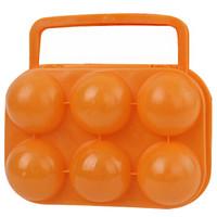 克來比 野餐雞蛋籃 戶外裝蛋盒 防震防碎便攜雞蛋盒 雞蛋托盒 野營收納盒 6格裝 KLB1018