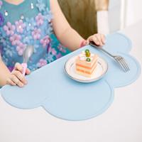 尚烤佳 餐垫 儿童宝宝餐垫 隔热垫  硅胶垫 防滑防水垫 野餐垫 儿童餐具