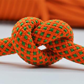 哥尔姆 高空作业绳耐磨空调安装安全绳外墙清洗绳索户外下降绳11MM绳子高楼逃生救生绳子 100米 橘色