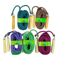 ENPEX乐士 9米长绳 中小学生多人团体跳绳 运动健身集体训练团建器材(颜色随机)