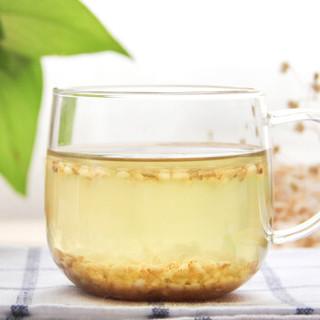 華簡 茶葉蕎麥茶養生茶  苦蕎茶 (黃苦蕎茶+黑苦蕎茶)組合共550g兩罐裝 可搭配大麥菊花茶