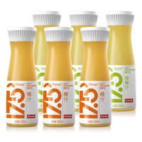 NONGFU SPRING 农夫山泉 NFC鲜榨果汁 (330ml*6瓶、橙汁味+苹果味)