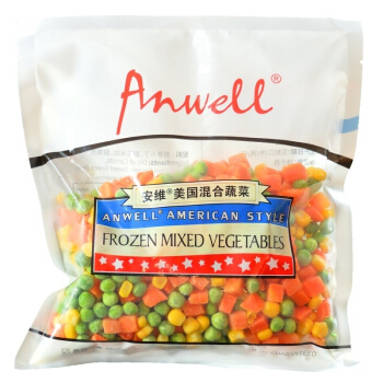 Anwell 安维 冷冻混合蔬菜丁 (300g)