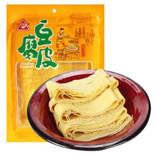 川珍 豆腐皮 200g 油豆皮腐竹干豆皮干货特产豆制品火锅食材凉拌麻辣烫