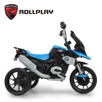 rollplay美國兒童玩具三輪車小孩腳踏車3-5歲自行車寶寶幼兒童車 藍色SR1300-A01BU