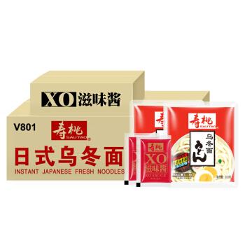 SAU TAO 寿桃牌 日式乌冬面 (6000g、箱装、30包)