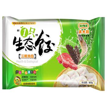 吴大嫂  三鲜肉馅 800g(40只)经典牧歌系列水饺 火锅食材 东北特产 蒸饺馄饨