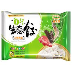 双重优惠 13.78元 吴大嫂  三鲜肉馅 800g(40只)经典牧歌系列水饺