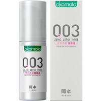 冈本003人体润滑液60ml   0.03润滑剂情趣计生用品水溶性透明质酸 成人用品 进口产品 okamoto