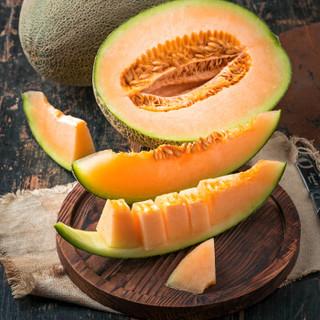 西州蜜瓜25号哈密瓜 2粒装 单果1.5kg以上 新鲜水果