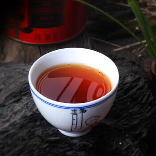 桃渊茗 茶叶 红茶 正山小种 清香型希捍系列罐装 六罐礼盒装300g
