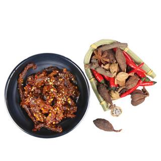 巴口香 牛肉干 (袋装、麻辣味、90)