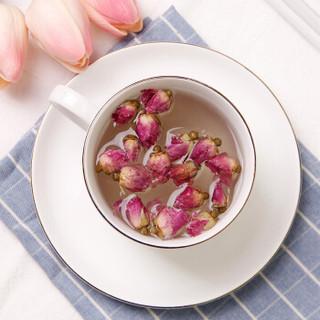 八享时玫瑰花茶80g 花草茶 干玫瑰 自营茶叶