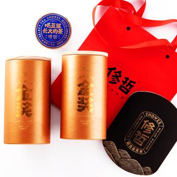 修哲 高山乌龙茶 2019年新茶 128g*2罐 +凑单品