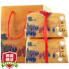 张一元茶叶 花茶花草茶 新茶浓香型茉莉花茶传统礼包送礼礼品礼袋装礼盒装400g
