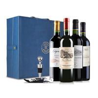 LAFITE 拉菲 红酒 (礼盒装、14%vol,14%vol,14.5%vol、4、750ml)