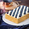 MCAKE蓝莓千层拿破仑创意生日蛋糕水果生日宴会节日蛋糕 1磅 同城配送