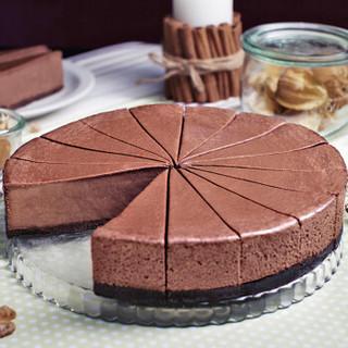 芝士百丽 巧克力芝士蛋糕 1000g 12片 欧洲原装进口春节年货礼盒 CHEESEBERRY
