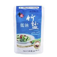 中盐 低钠竹盐加碘盐 250克 *7件