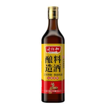 老恒和 酿造料酒 三年陈酿 500ml