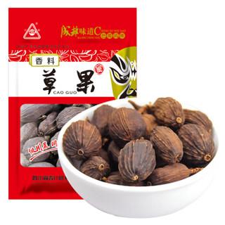 川珍 草果 50g 火锅配料香辛料烧炖卤料佐料调味料