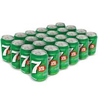 PEPSI 百事 七喜汽水 (柠檬味 、330ml*24罐)