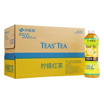 ITOEN 伊藤园 柠檬红茶 (500ml*15瓶)