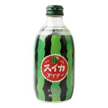 日本进口 友桝友傑(jie)友树友升碳酸西瓜味汽水 300ml/瓶