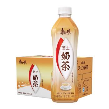 Tingyi 康师傅 奶茶饮料 (500ml*15瓶、芝士味)