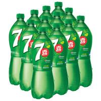 PEPSI 百事 七喜 碳酸饮料 (柠檬味、1L*12瓶)