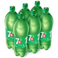 PEPSI 百事 七喜 7UP 汽水碳酸饮料 (柠檬味、 2L*6瓶)