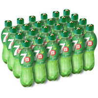 7-Up 七喜 柠檬味 碳酸饮料 550ml*24瓶