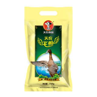 天农 广东飞鸭 800g 鸭子肉水鸭 湖畔散养土鸭 散养70天以上 煲鸭汤烤鸭食材