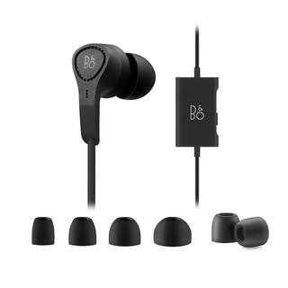 BANG & OLUFSEN BeoPlay E4 耳机 (通用、动圈、入耳式、黑色)